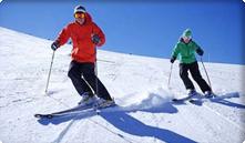 Lyžařské tratě v okolí Pece pod Sněžkou
