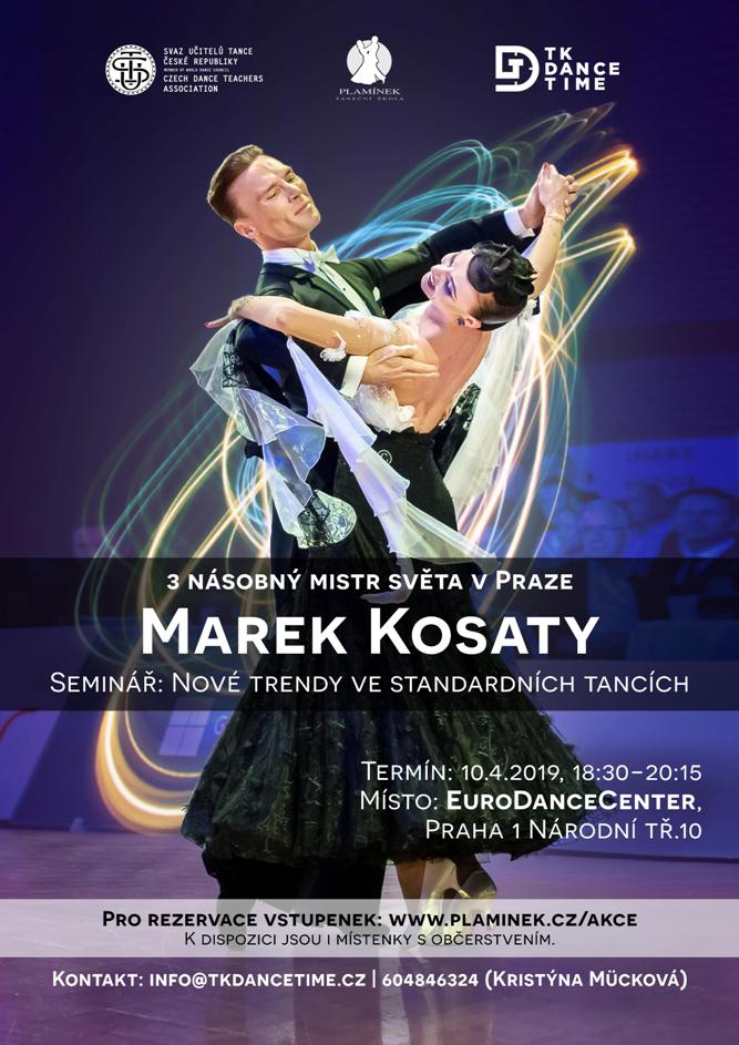 Marek Kosaty v Praze - seminář