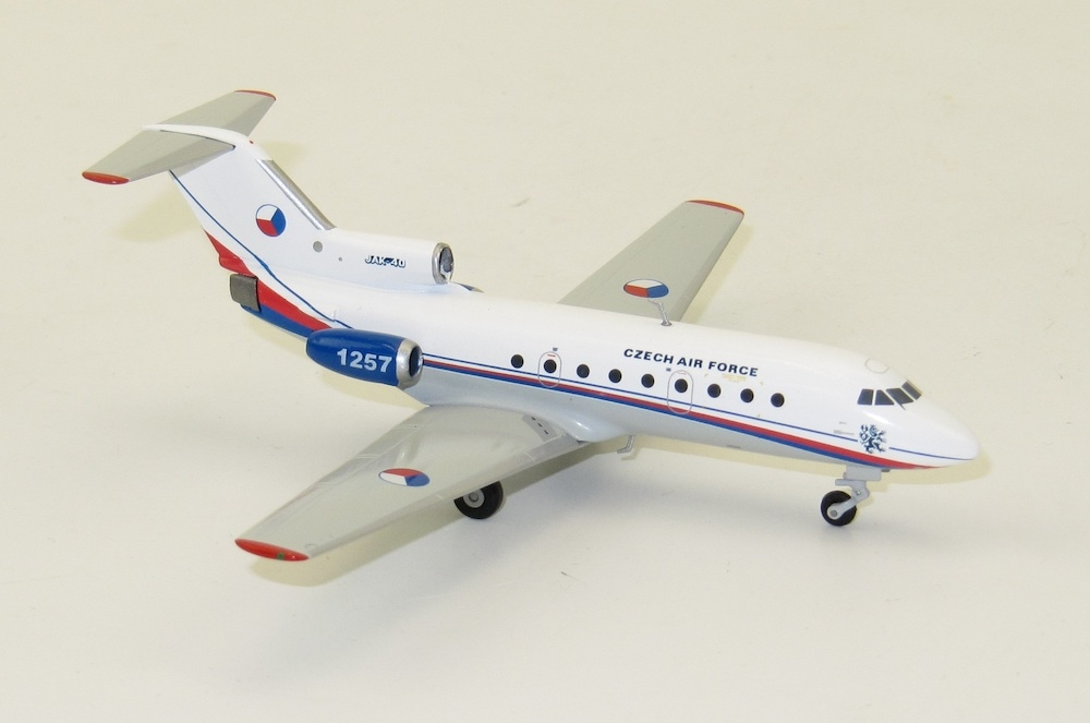 1:200 Jak-40, Czech Air Force, 241st Transport Squadron, Kbely